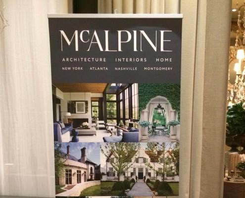 McAlpine Banner Stand